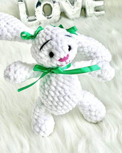 Mały Króliczek Wielkanocny – 21cm, Handmade